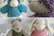 animals/dolls - knit/crochet