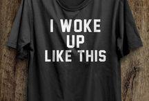 shirt met tekst