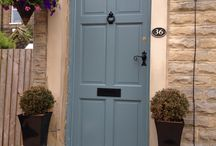 Armitage Bridge front door completed! / Finding new colours and hardware for my front door