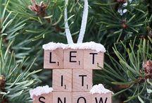 DIY   Christmas Ornaments / Cheap ornaments to make for Christmas