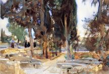 John Singer Sargent-Watercolours / (US, 1856-1925)