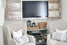 Wall mounted TV cabinets
