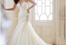 bridal gowns / by Marion Waddy