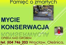 Mycie grobu, Wrocław Osobowice, tel 504-746-203, prace na cmentarzu, przy grobie / Mycie i sprzątanie grobów tel 504-746-203. Firma świadcząca usługi w zakresie opieki nad grobem. Czyszczenie, mycie, przycięcie żywopłotu wokół grobu. Cennik usługi do uzgodnienia. http://posprzataniegrobow.eu/ Cmentarz Osobowice, Osobowicki.