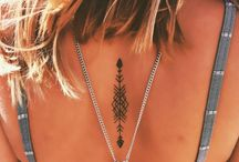 Henna Tattoo Inspiration / Tattoos and Henna tattoo inspiration for special occasions; Eid, weddings, birthday, or beach days.