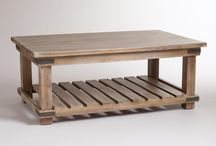 Coffee Tables / A collection of coffee tables as reference for building my own.