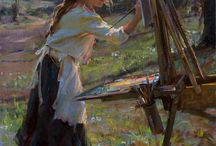 Painter Daniel Gerhartz