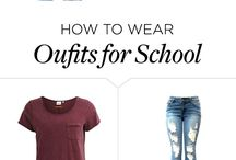 outfits to school and everywhere