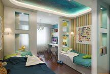 2016 New Kid`s Room / Kid`s room should be under good arrangement, because here may be the Eden of children to read book, play and sleep.