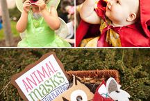 Savannah's First Birthday - Enchanted Forest
