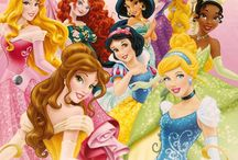 todas las princesas de Disney