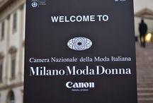 Milano Moda Donna a/i 2014-2015 / #StreetStyle #Milán #MFW #MilanFashionWeek #MilanoModaDonna #Milano #Prada #Moschino #CostumeNational #Krizia