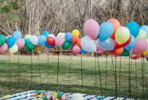 Вечеринка на заднем дворе
