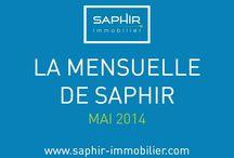 La Mensuelle de Saphir / Retrouvez ici toutes les Newsletters de Saphir