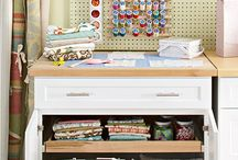 Craft Room and/or Home Office Ideas