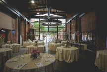 Weddings at the Agricultural & Industrial Museum / A unique venue for a wedding ceremony and wedding reception located in Downtown York, PA.  Lobby, Hall of Giants and Outdoor Courtyard available.