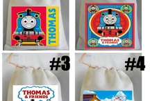 Birthday Ideas - Turning 5 / Thomas the Train theme