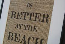 Beach chic / Unique Beach Bach ideas