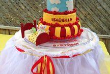 Toopy & Binoo Party ! / 2 birthday, toopy & Binoo, red & yellow , candy bar, cake !