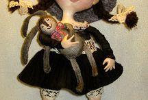 umelecké bábiky / art dolls