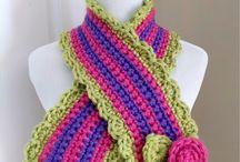 crochet neck wear