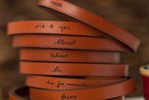 Engraved leather stuff