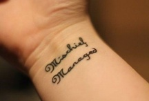 Tattoo ideas / by Miranda Wallace