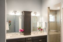 POWDER ROOM ELEGANCE / These bathrooms bring a sense of elegance to your daily routine.