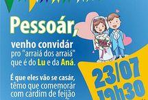 texto convite festa junina
