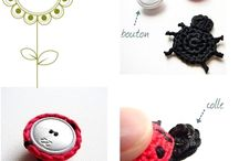 Buttons / Crochet / Embroidery