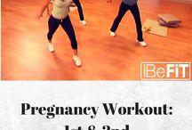 Pregnancy health + exercise