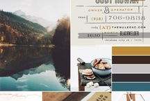 Mood Boards / Mood Boards help create inspiration for brand identities.