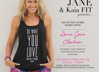 Lorna Jane Powered by Kaia FIT / Join Kaia FIT and Lorna Jane as we prepare to inspire Women to MOVE, NOURISH, BELIEVE!