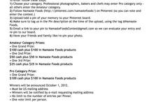 Just Us Amateurs - Photo Contest / Namaste Foods Photo contest