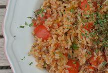 rijst gehakt schotel