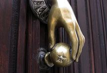 ON THE DOOR / by Kay Droege