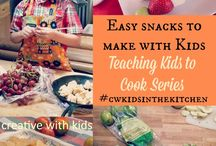 Food for kids / A board of food ideas for kids, other than school lunches!