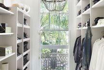 Wardrobe spaces / Wardrobes
