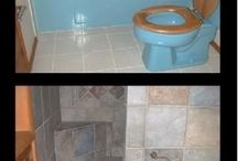 bathroom remodels  / by Amber Stacy