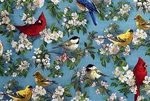 Fabrics / wall paper