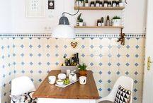 WOHNEN: Küche / Einrichtungsideen für die Küche und DIY Ideen für die Küche