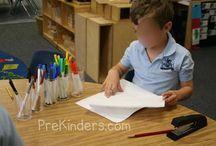 Litteraturarbejde i børnehaveklassen