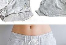 woman jogger pattern