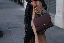 Camel coat wardrobe