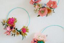 Paper flower crowns omg