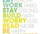 motivation/healthy lifestyle