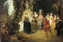 Watteau Jean Antoine (Valenciennes 1684-Nogent-sur-Marne1721)