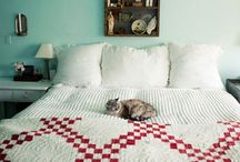 Red & White Quilt Love <3 / I have a passion for red & white quilts!   / by Bonnie K Hunter