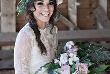 Bridal Bouquet & flower crown