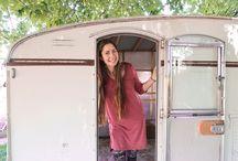 Pearl the Vintage Camper Reno